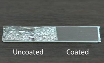 Recubrimientos hidrófilos para mejora de visibilidad en condensación