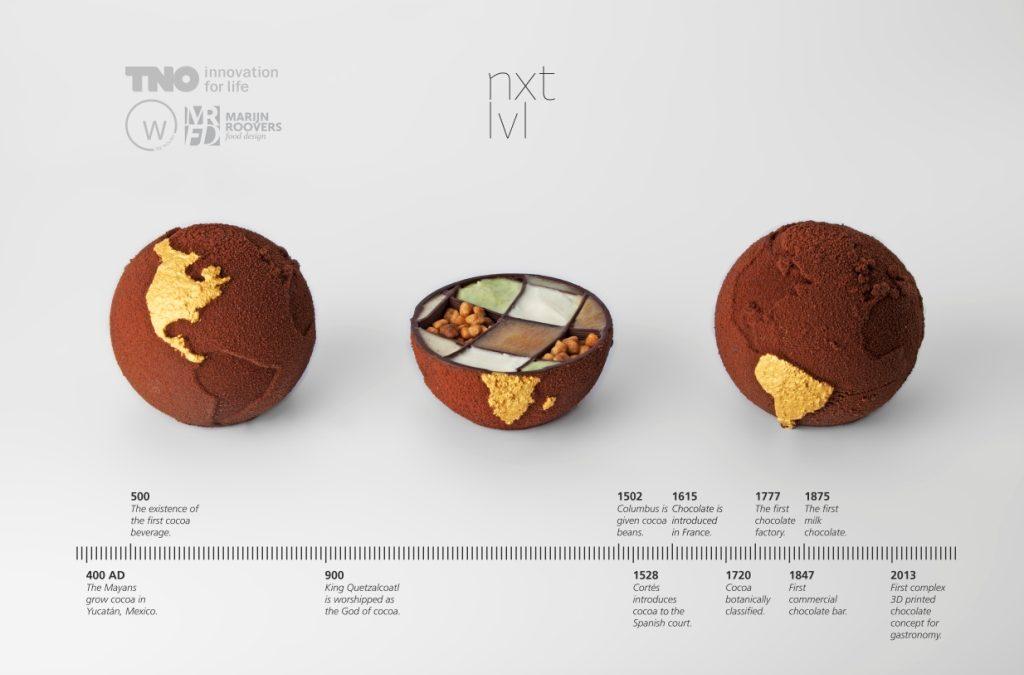 Impresión de alimentos en 3D