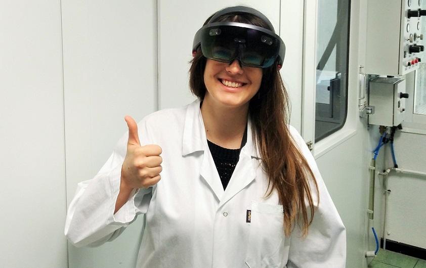 ¡Llegan las Microsoft HoloLens al laboratorio de ATRIA!