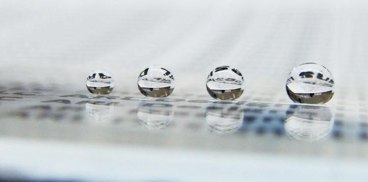Recubrimientos superhidrófobos