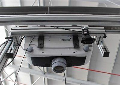 Sistema de proyección de instrucciones de montaje