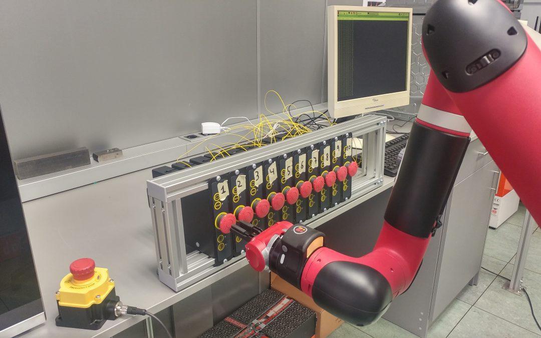 Diseño de ensayos para pulsador de emergencia