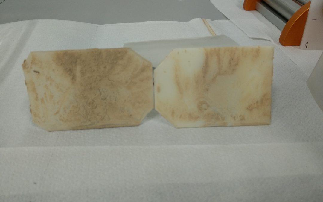 Diseño de ensayo de limpieza de barro y césped