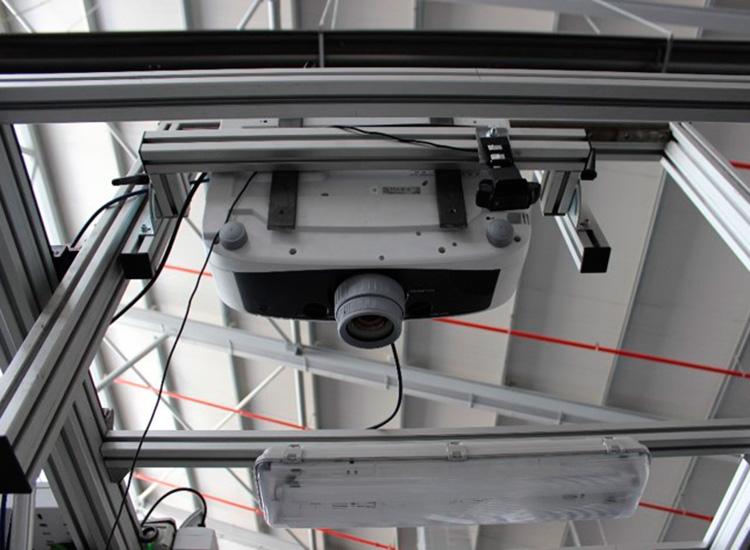 Assembly instructions projection system