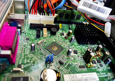 Realidad aumentada para el montaje de placas electrónicas