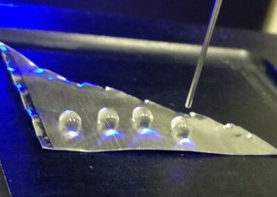 Aluminio superhidrófobo en intercambiadores