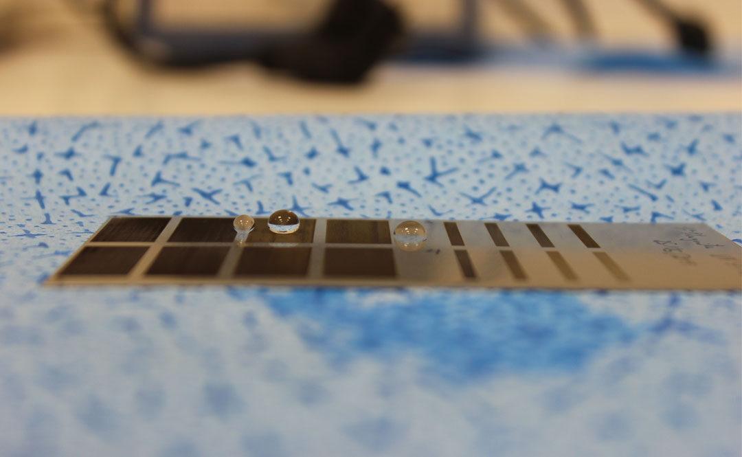 Hidrofobicidad de materiales