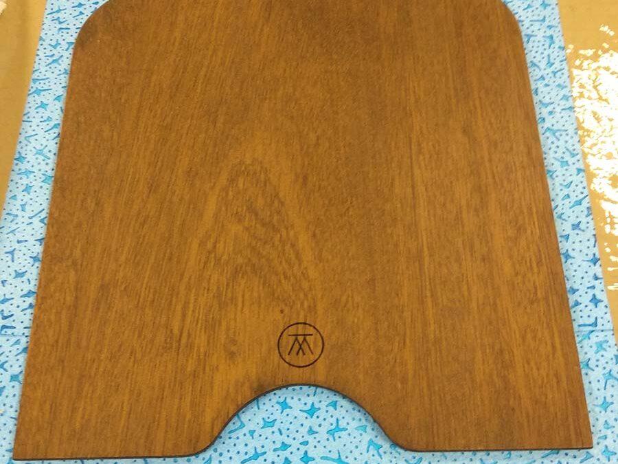 Marcaje láser en madera