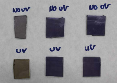 Improved UV wear resistance