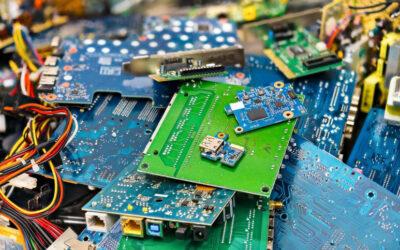 Reciclaje industrial de desechos eléctricos y electrónicos (E-waste)