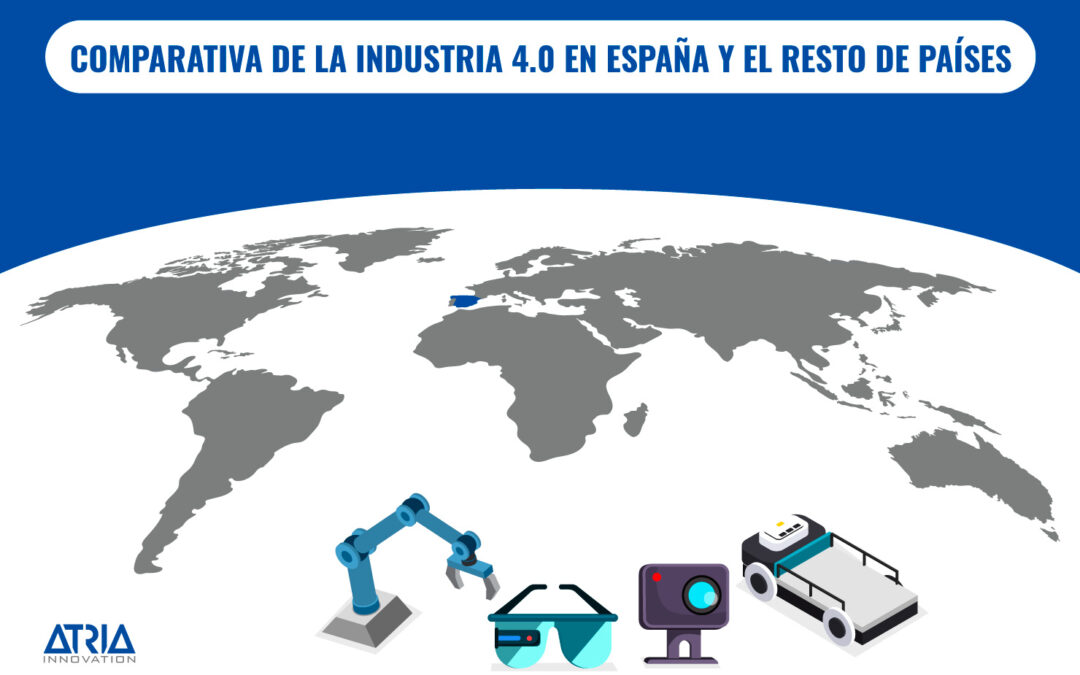 Comparativa de la Industria 4.0 entre España y el resto de países