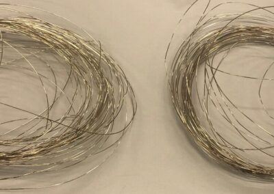 Characterization of welding wires from a new supplier