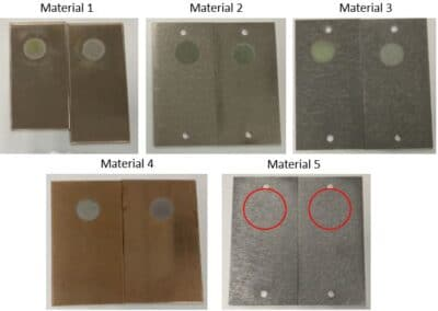 Determinación del potencial y curvas de corrosión de materiales metálicos