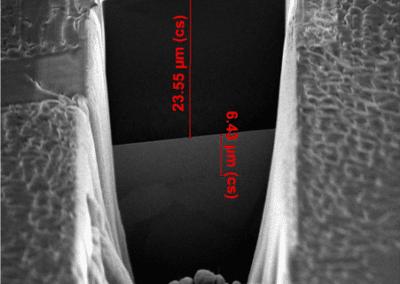 Caracterización de la estructura interna de muestras metálicas