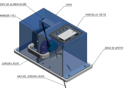 Laser calibration equipment
